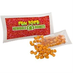 Pepitas (pumpkin Seeds) - Small Bag Filled With Your Choice Of Snack. Full Color Logo On 1 Side Of Bag