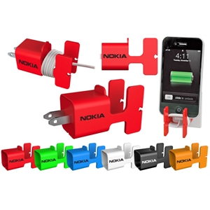 40 Working Days - Cable Organizer And Phone Holder Holds The Usb Wall Charger And Phone