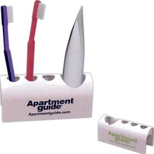 Zen - 7 Working Days - Light Weight Plastic Holder Holds 3 Toothbrushes And 1 Tube Of Toothpaste
