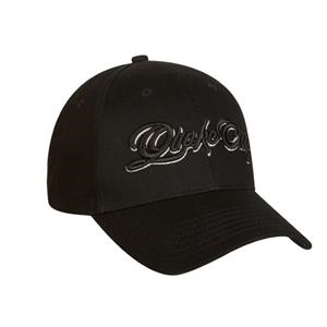 1200 Series - Black - 6-panel Unwashed Rounded Baseball Cap