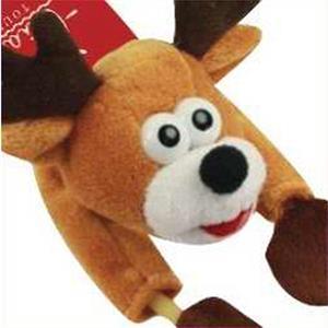 Flying Shrieking Reindeer Noisemaking Toy