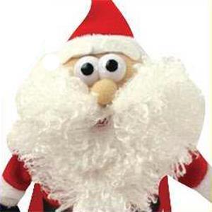 Flying HoHoHoing Santa Noisemaking Toy
