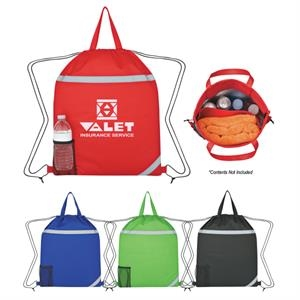 Reflecto - Insulated Drawstring Backpack