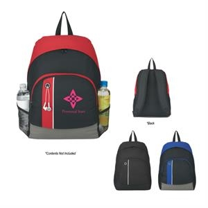 Scholar Buddy - Transfer - Backpack With Main Compartment And Front Zippered Pocket