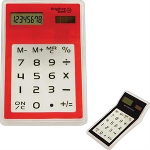 Touch Screen Solar Calculator With Transparent Ke