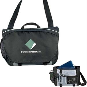 Silverlight - 600 Denier Ripstop Polyester Computer Messenger Laptop Bag