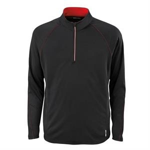 North End (r) Radar - 2 X L - Men's Half-zip Performance Long Sleeve Top
