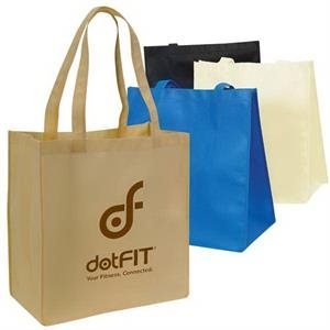 Large Non Woven Tote Bag With Handles And Gusset, Made Of 100 Gm Polypropylene