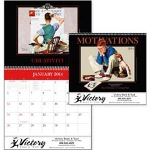 Motivations The Saturday Evening Post - Norman Rockwell Motivational Appointment 2015 Calendar