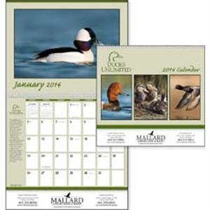 Ducks Unlimited - 2015 Calendar With Photographs And Information About Ducks