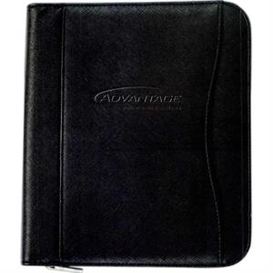 Padfolio With Junior Size Notepad Included And Camera Opening On Back