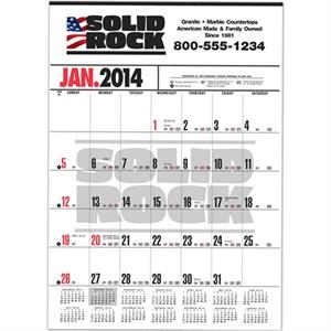 Handi-record (tm) - Business Calendar With Black Ad