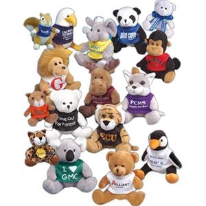 "Q-tee Collection (tm) - Eagle - 5"" Stuffed Animal"