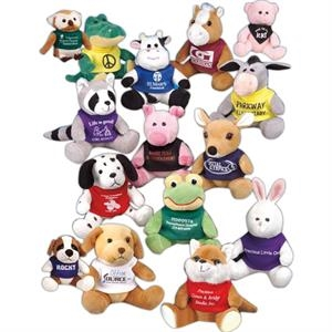 "Q-tee Collection (tm) - Pig - 5"" Stuffed Animal"