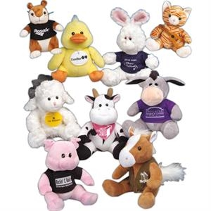 "Q-tee Collection (tm) - Bunny - 9"" Stuffed Animal"