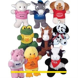 "Ruddly (tm) Family - Pig - 10"" Stuffed Animal"