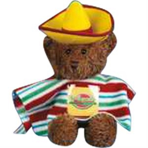 Mexican 2 Piece Outfit For Stuffed Animal. Blank