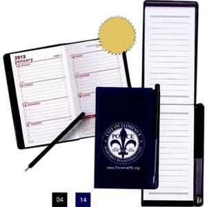 Multi-purpose Mini-weekly Planner With 50 Page Pad And Pen
