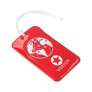 "Luggage Tag, 2 3/4"" X 4 1/2"" X 3/8"""