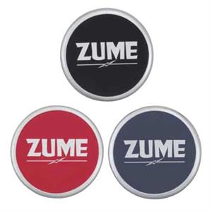 Zume - Coaster Adds Zest To Your Promotional Item With A Sleek Silver Border