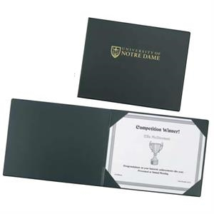 Prestige - Certificate Holder With Rich, Premium Simulated Leather On Cover