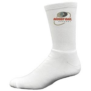 Super Soft Cotton Crew Sock with Printed Applique