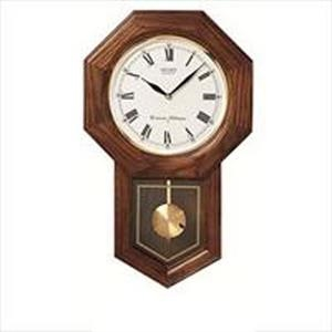 Seiko Wall Chime Clock With Pendulum