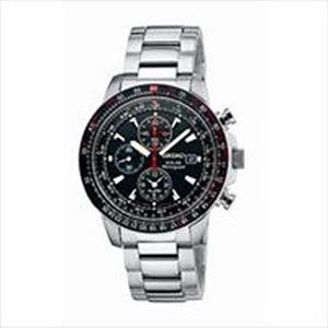 Seiko Men's Solar Avaitor Watch