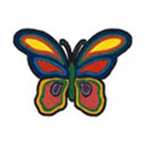 Groovy Butterfly, Stock Tattoo Designs
