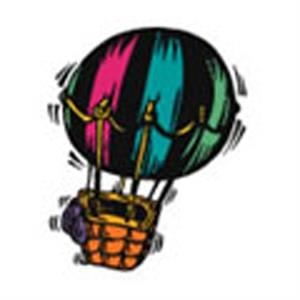 Hot Air Balloon, Stock Tattoo Designs