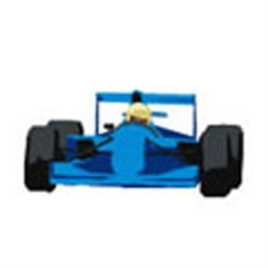 Blue Race Car, Stock Tattoo Designs