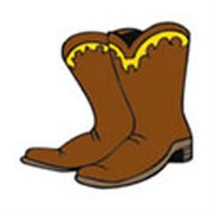 Cowboy Boots, Stock Tattoo Designs
