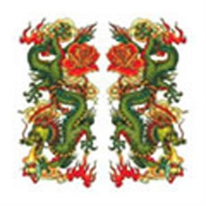 Chinese Dragons, Stock Tattoo Designs