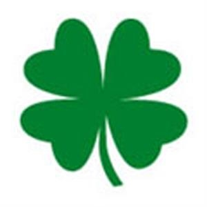 4 Leaf Clover, Stock Tattoo Designs