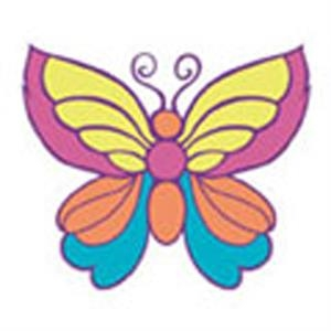 Easter Butterfly 5, Stock Tattoo Designs