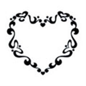 Groovy Heart, Stock Tattoo Designs