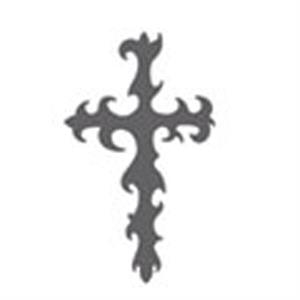 Celtic Tribal Cross Stock Temporary Tattoo