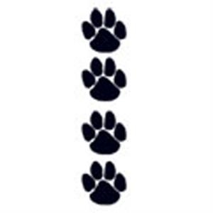 Black Paws, Stock Tattoo Designs