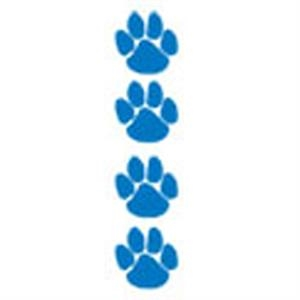 Blue Paws, Stock Tattoo Designs