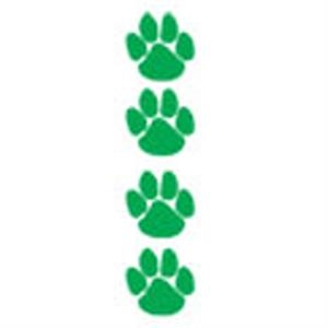 Green Paws, Stock Tattoo Designs