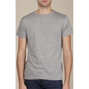 Heather S- X L - Men's Basic Crew Made Of Cotton Jersey