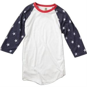 Men's Printed Baseball Tee