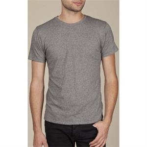 2 X L - Men's Heather Short Sleeve Perfect Crew T-shirt Made Of 100% Pima Cotton
