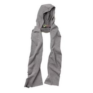 Unisex Eco-fleece Hooded Scarf