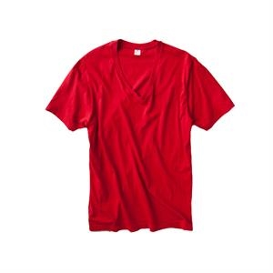 Color S- X L - Men's Cotton Jersey Basic V-neck T-shirt