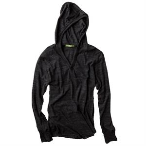 X S- X L - Colors - Unisex Eco-heather Long Sleeve Pullover Hoodie