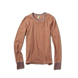 2 X L - Men's Feeder Stripe Long Sleeve Crew Tee