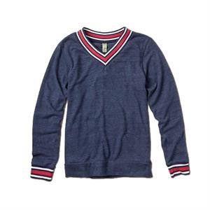 S- X L - Men's V-neck Sweatshirt