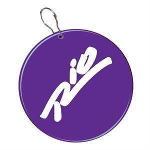"""Purple 2 1/2\"""" Medallion Badge"""