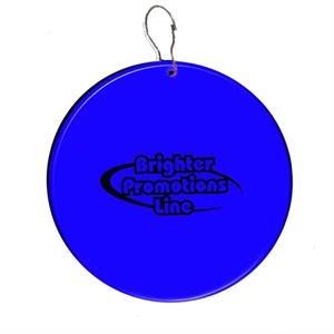 "Blue 2 1/2\"" Medallion Badge"